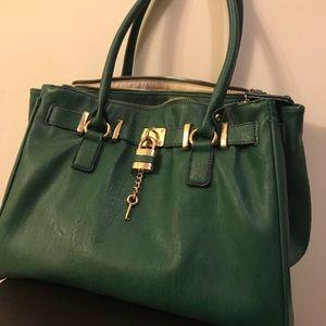 Gorgeous Dark Green Aldo Bag